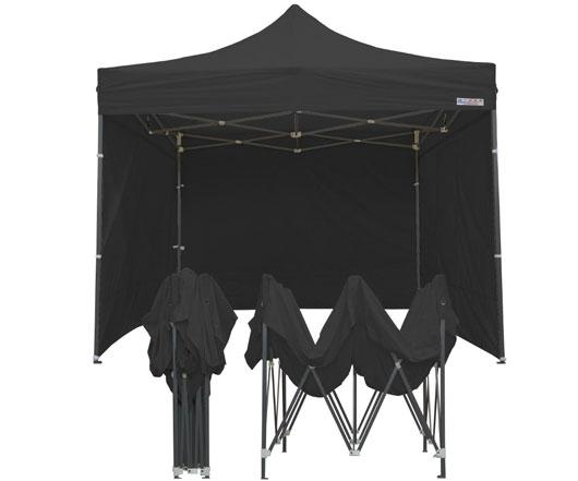 Tente parapluie 3m x 3m noire
