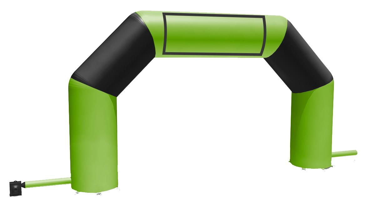 Arche Gonflable verte et noire