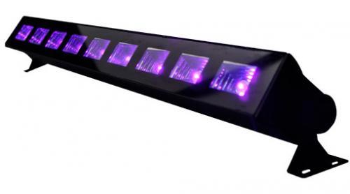 Lumière Noire - Barre led 9x1w