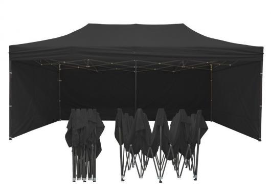 Tente parapluie 6m x 3m noire